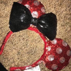 Minnie Mouse ears straight from Disneyland :)